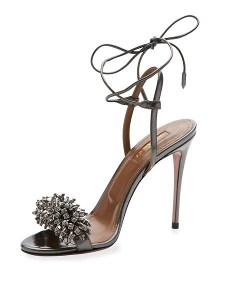 Свадьба - Monaco Beaded 105mm Sandal