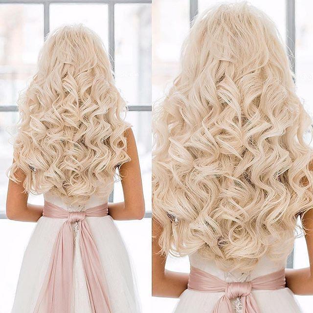 Mariage - curl hair
