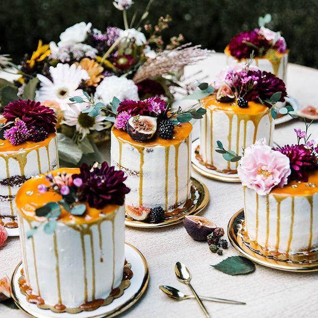 Wedding - Bunch Of Mini Cakes
