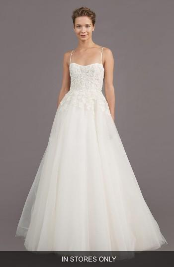 Wedding - Amsale Holland Embellished A-Line Gown (In Stores Only)