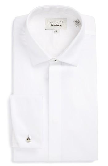 Boda - Ted Baker London Fedra Trim Fit Tuxedo Shirt