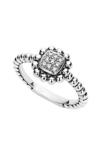 Mariage - LAGOS Caviar Spark Diamond Square Ring