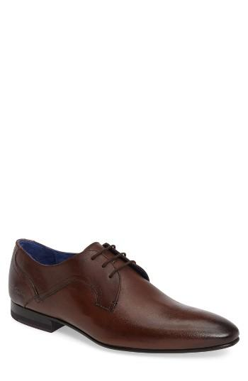 Wedding - Ted Baker London Pelton Plain Toe Derby (Men)