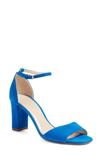 Mariage - L.K. Bennett 'Helena' Ankle Strap Block Heel Sandal