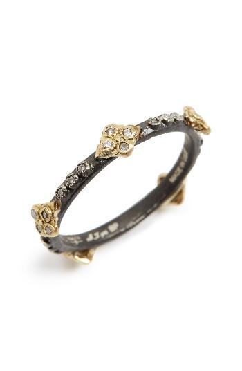 Wedding - Armenta Old World Crivelli Diamond Stack Ring