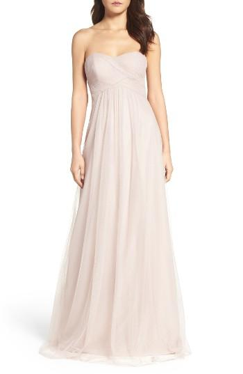 Mariage - WTOO Strapless Tulle Gown