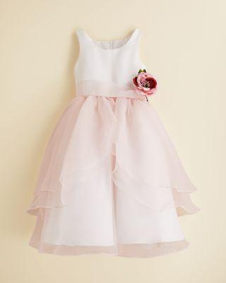 Wedding - US Angels Girls' Organza Flower Girl Dress - Little Kid
