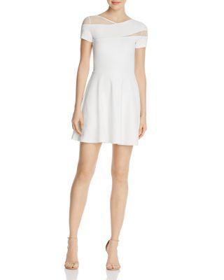 Mariage - AQUA Mesh Cutout Dress - 100% Exclusive