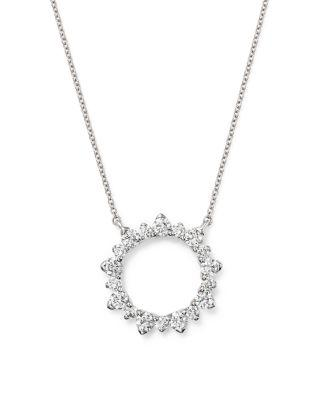 Bloomingdale's Diamond Pendant Necklace in 14K White Gold, 1.50 ct. t.w. - 100% Exclusive