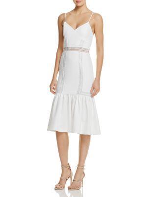 Mariage - AQUA Flounce Hem Dress- 100% Exclusive