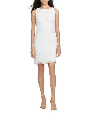 Boda - Lauren Ralph Lauren Lace Sheath Dress