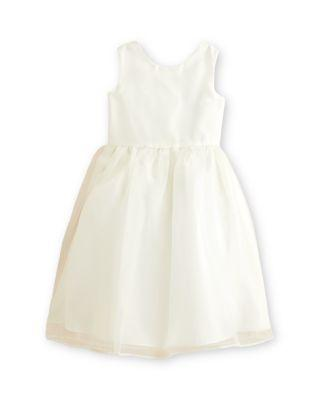 Wedding - US Angels Girls' Organza Tank Dress - Baby