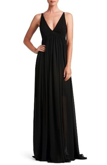 Mariage - Dress the Population Phoebe Chiffon Gown