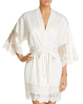 Свадьба - Flora Nikrooz Farrah Charmeuse Cover-Up Robe