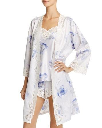 Mariage - Lauren Ralph Lauren Signature Satin Pajama Set & Robe