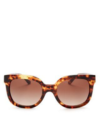 Mariage - Tory Burch Square Sunglasses, 56mm