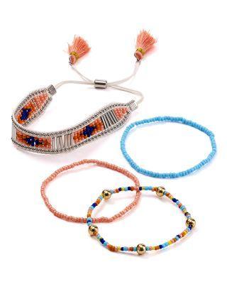 Wedding - AQUA Larken Beaded Bracelets, Set of 4 - 100% Exclusive
