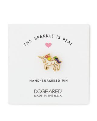 Mariage - Dogeared Sparkle Is Real Unicorn Pin