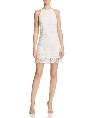 Wedding - AQUA Lace Slip Dress - 100% Exclusive