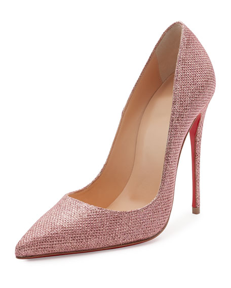 Mariage - So Kate Glitter 120mm Red Sole Pump