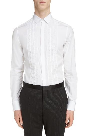 Свадьба - Lanvin Ruffle Tuxedo Shirt