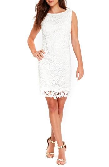 Wedding - Wallis Crochet Lace Shift Dress