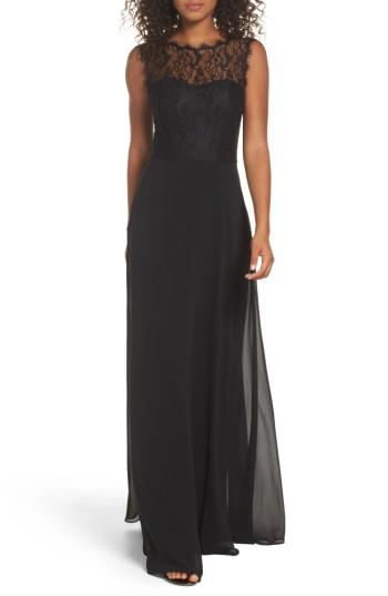 73519a85d26b Hayley Paige Occasions Lace & Chiffon A-Line Gown #2745141 - Weddbook