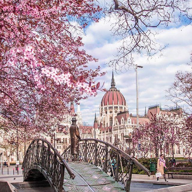Весна в Венгрии !
