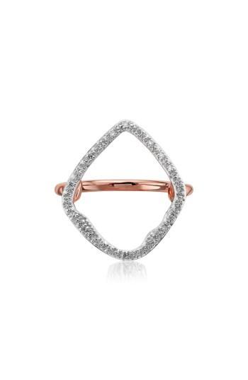 Hochzeit - Monica Vinader Riva Hoop Diamond Ring