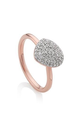 Wedding - Monica Vinader Nura Small Pebble Stacking Ring