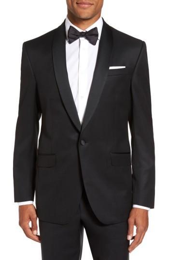 Wedding - Ted Baker London Trim Fit Wool & Mohair Dinner Jacket