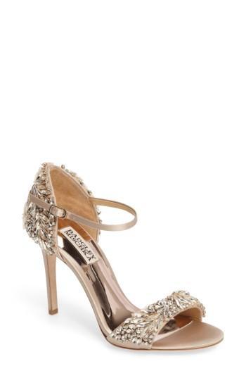 Hochzeit - Badgley Mischka Tampa Ankle Strap Sandal (Women)