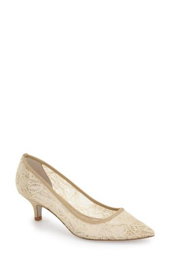 Wedding - Adrianna Papell 'Lois' Mesh Pump