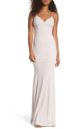 Hochzeit - Katie May Stretch Crepe Gown