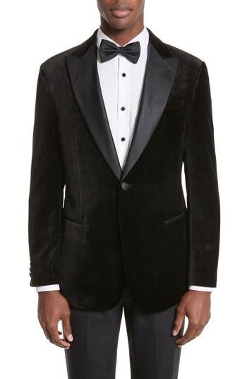 Свадьба - Emporio Armani Trim Fit Velvet Dinner Jacket