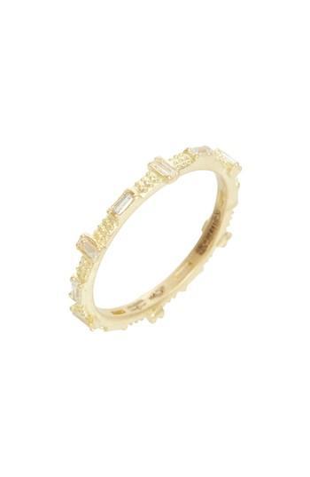 Hochzeit - Armenta Sueno Baguette Sapphire Stacking Ring
