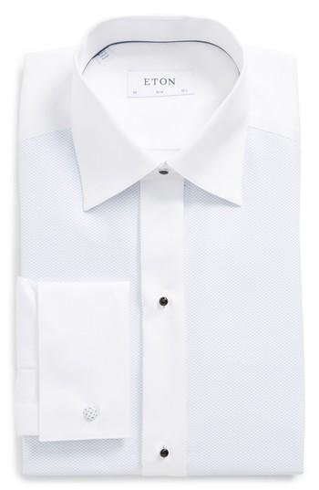 Свадьба - Eton Contemporary Fit Geometric Tuxedo Shirt