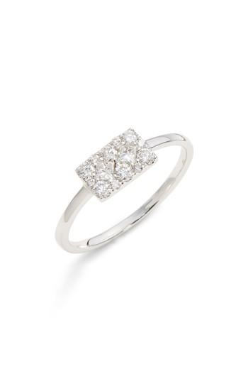 زفاف - Bony Levy Mika Cushion Diamond Stacking Ring (Nordstrom Exclusive)
