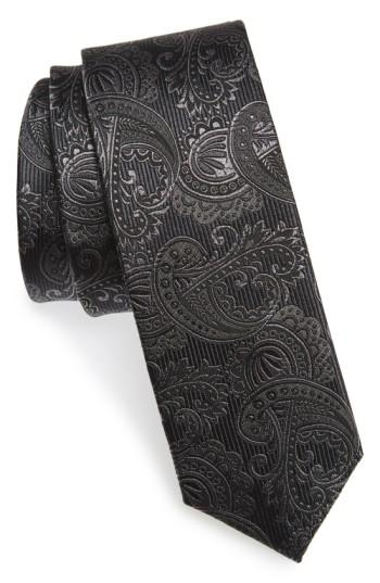 Свадьба - The Tie Bar Textured Paisley Silk Tie