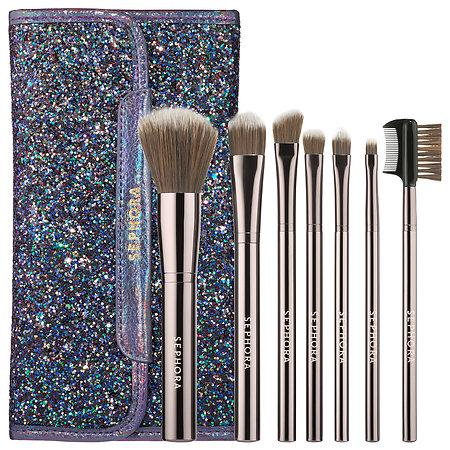 Mariage - Dark Rainbow Antibacterial Brush Set