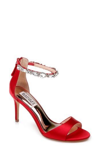 Mariage - Badgley Mischka Sindy Ankle Strap Sandal (Women)
