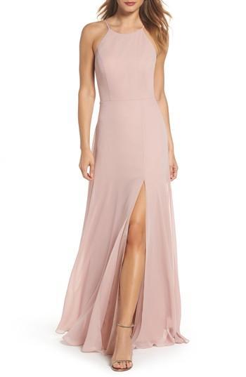 Mariage - Jenny Yoo Kayla A-Line Halter Gown