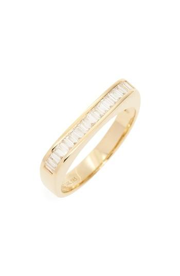 Wedding - EF COLLECTION Baguette Diamond Band
