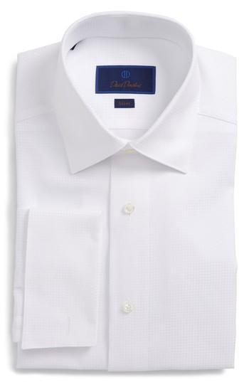 Свадьба - David Donahue Slim Fit Tuxedo Shirt