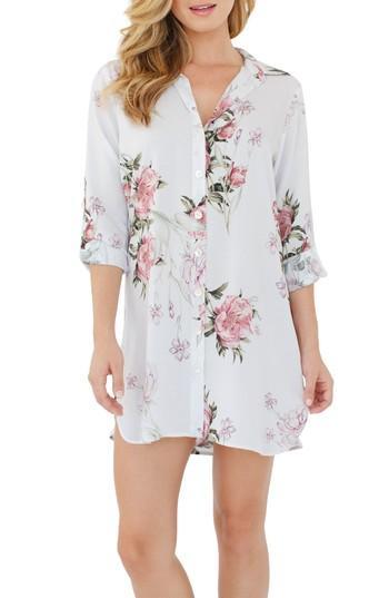 Mariage - Plum Pretty Sugar Floral Nightshirt