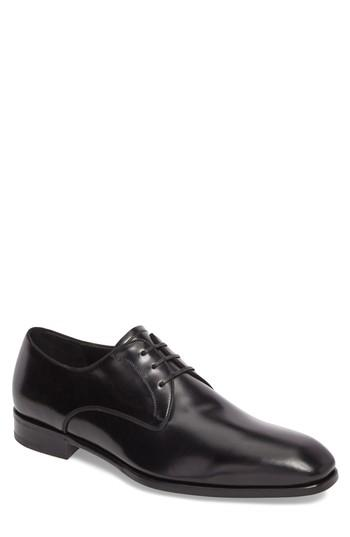 Wedding - Salvatore Ferragamo Charles Plain Toe Derby (Men)