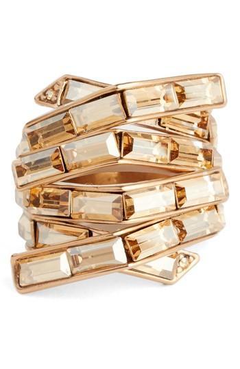 Wedding - St. John Collection Swarovski Crystal Cocktail Ring