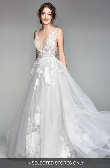 Mariage - Willowby Galatea Embroidered Tulle Ballgown