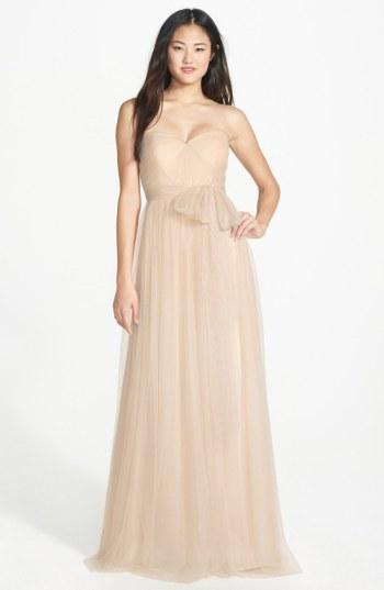 Mariage - Jenny Yoo Annabelle Convertible Tulle Column Dress