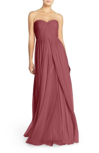 Wedding - Jenny Yoo Mira Convertible Strapless Chiffon Gown